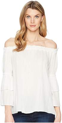 KUT from the Kloth Kaylyn Off Shoulder Top Women's Blouse