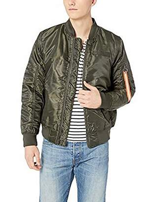Southpole Men's Basic MA-1 Flight Bomber Jacket