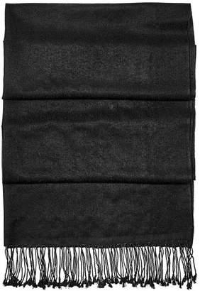 Aspinal of London Essential Silk Cashmere Pashmina In Topaz