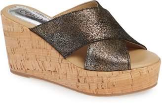 Cordani Jan Platform Wedge Slide Sandal