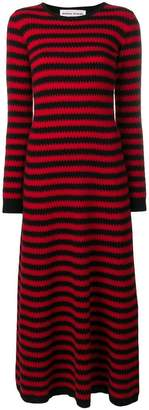 Sonia Rykiel zigzag pattern dress