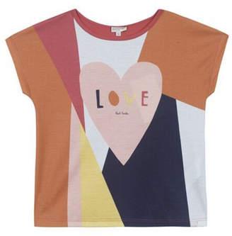 Paul Smith 8-14 Years Love Shirt