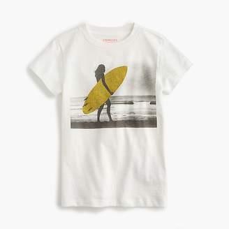 J.Crew Girls' sparkly surfer T-shirt