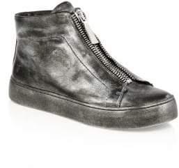 Frye Lena Zip High-Top Sneakers