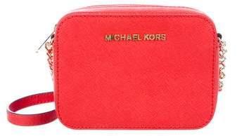 Michael Kors Camera Crossbody Bag - RED - STYLE