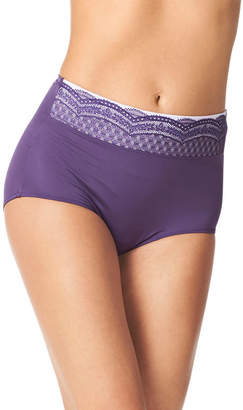 Warner's WARNERS Warners No Pinches, No Problem Lace Brief Panty RS7401P