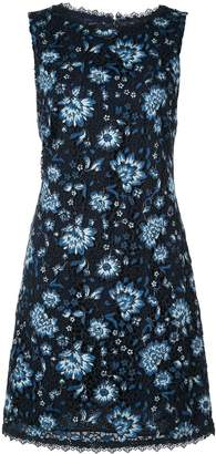 Alice + Olivia Alice+Olivia lace floral fitted dress