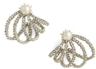Women's Alexis Bittar Orbiting Crystal Earrings $175 thestylecure.com