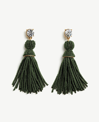Seed Bead Tassel Earrings $19.88 thestylecure.com