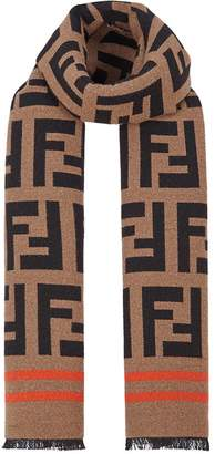 Fendi FF jacquard scarf