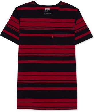 Levi's Men's Striped Pocket T-Shirt