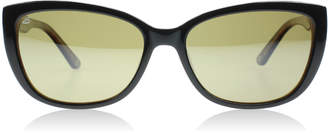 Serengeti Sophia Sunglasses Shiny Black / Tortoise 7890 Polariserade 55mm