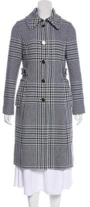 Tory Burch Knee-Length Wool Coat