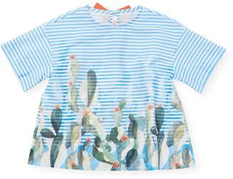 Il Gufo Bow Button-Down Shirt