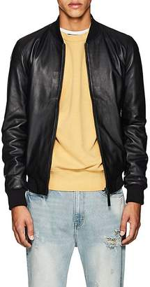 Barneys New York Lot 78 x Men's Leather Bomber Jacket