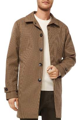 Michael Kors Belted Plaid Overcoat