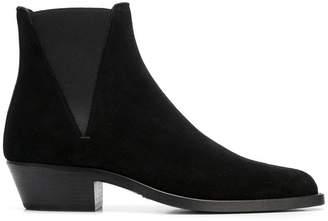 fd5bb4960c7e Saint Laurent Black Chelsea Men s Boots