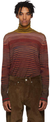 Missoni Multicolor Striped Turtleneck
