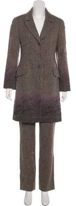 Christian Lacroix Wool Blazer Pant Suit