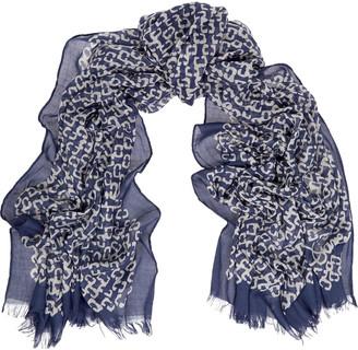 Diane von Furstenberg Printed gauze scarf $160 thestylecure.com