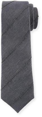 Brunello Cucinelli Finely Striped Tie