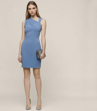 Reiss KATERINA SLEEVELESS BODYCON DRESS Sapphire