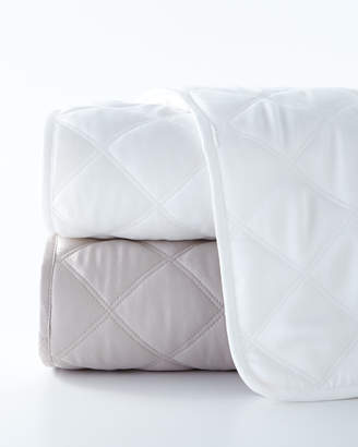 Pine Cone Hill King Quilted Silken Solid Coverlet