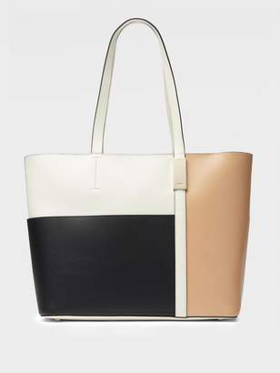 DKNY Sam Pebbled Leather East-West Tote