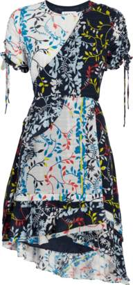 Tanya Taylor Siena Floral Vines Print Dress