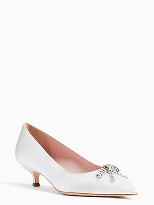 Kate Spade Derbie kitten heels
