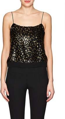 Barneys New York Women's Leopard-Print Fil Coupé Top