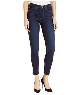 Vintage America High-Rise Skinny Jeans in Dark Blue