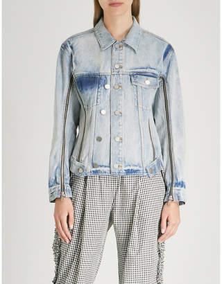 3.1 Phillip Lim Zipped denim jacket