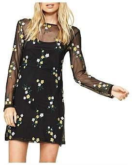 MinkPink Gracie Mesh Tshirt Dress