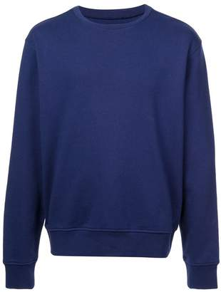 Maison Margiela long-sleeve fitted sweatshirt