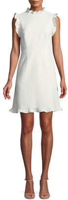 Jill Stuart Little White Dress w/ Open Back