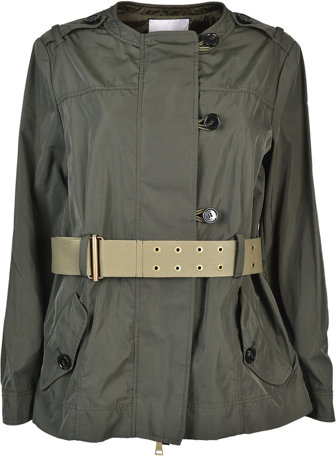 MonclerMoncler Belted Coat