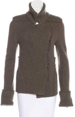Ann Demeulemeester Long Sleeve Short Coat