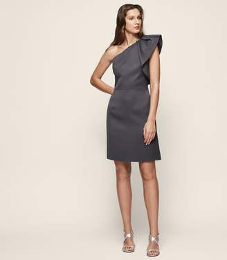 Reiss Selika One-Shoulder Cocktail Dress