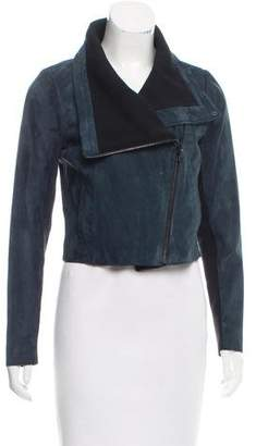 Yigal Azrouel Lightweight Suede Jacket