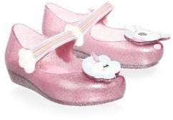 Mini Melissa Toddler's& Girl's Mini Ultragirl Unicorn Mary Jane
