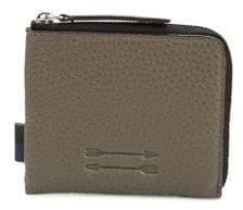 Uri Minkoff Zippered Leather Card Holder