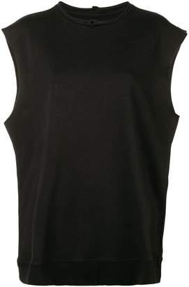 MM6 MAISON MARGIELA oversize sweatshirt-vest
