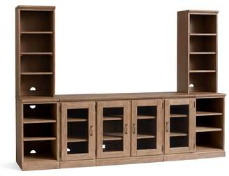 Pottery Barn Large Media Suite with Bookcases