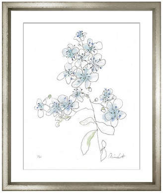 William Stafford Minnie Carter - Flowers Blue II Art
