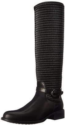 Aquatalia Women's Ully Riding Boot $595 thestylecure.com