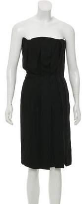 Bottega Veneta Splice Layered Dress