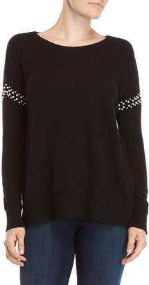 Qi Faux Pearl Sweater