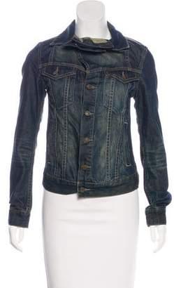 AllSaints Distressed Denim Jacket