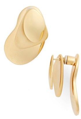 Women's Charlotte Chesnais Vermeil Ear Jackets $725 thestylecure.com